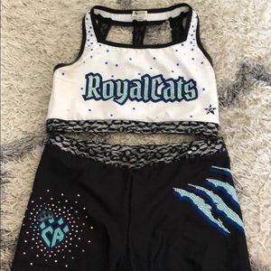 Cheer athletics worlds practice wear